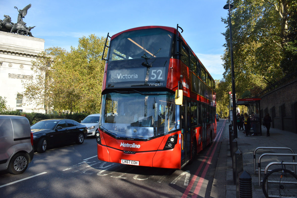 24.10.2018 / London Hyde Park / Wrightbus / LK67 EOH.