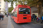24.10.2018 / London, London Eye > Waterloo Station / Wright Volvo hydrogen bus / LK60 HPL.