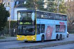 15.02.2019 | Berlin, Zehlendorf | MAN Lion's City DD | BVG | B-V 3105 |
