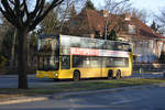 15.02.2019 | Berlin, Zehlendorf | MAN Lion's City DD | BVG | B-V 3129 |