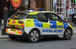 24.10.2018 / London Coventry Street / BMW I3 Polizei / NXI8 BZJ.